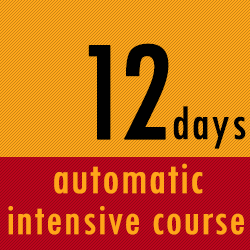 12 Days Intensive Course Automatic